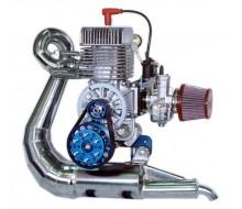 Двигатель Мини 2+ (без набора сайлент-блоков, без алюминиевого кронштейна для сайлент блоков, без воздушного фильтра, без выхлопной системы)