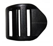 Пряжка регулировочная силовая (пластик), 25 мм