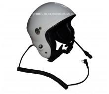 Шлем для парамотора. Радиофицированный